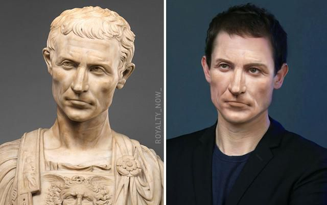 Here's What Julius Caesar & Others Would Look Like Today