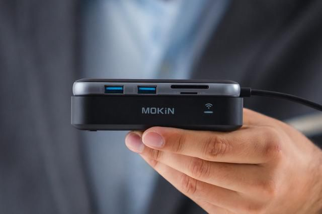 Throw away the HDMI Cable… This wireless display transmitter is the future of presentations