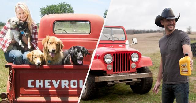 15 Stunning Photos Of Country Music Stars And Their Cars And Trucks