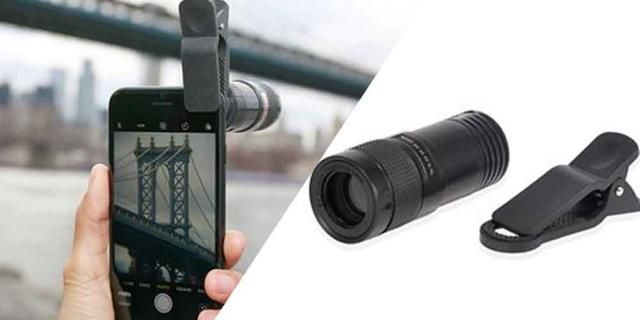 This Attachment Transforms Your Phone Into A Telescope