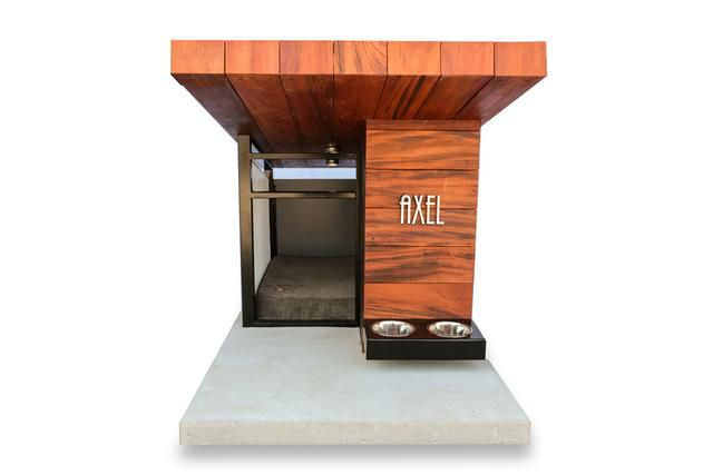 Finally a beautifully designed dog house that you won't have to hide!
