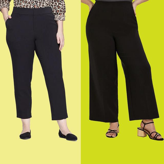 What Are the Best Plus-Size Black Work Pants for Women?