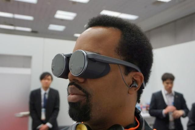 Panasonic's VR glasses are living proof that virtual reality headsets can look 'spectacular'