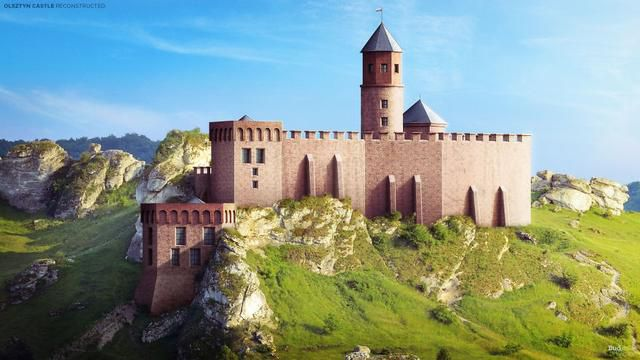 Europe's Most Magnificent Castles Brought Back To Life