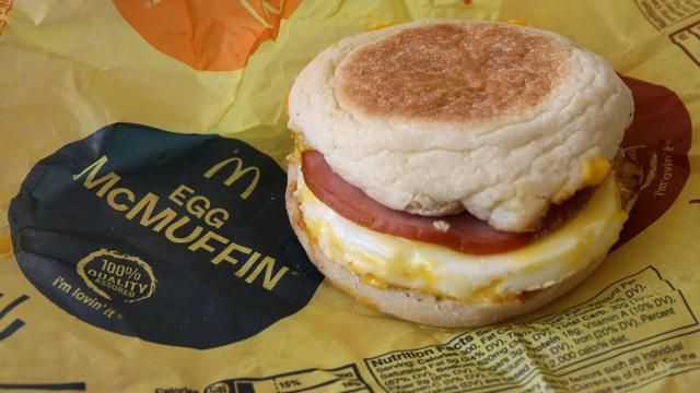Does McDonald's use real eggs?