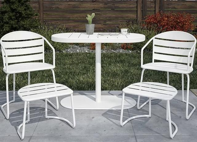 12 Pieces of Small Balcony Furniture That Will Fit in Your Compact Outdoor Space