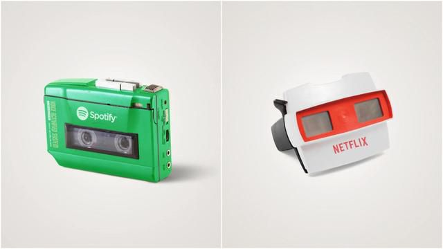 8 Technologies Of Today Transformed Into Objects From The 1980s